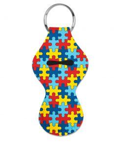 Autism Awareness Chapstick Holder 1