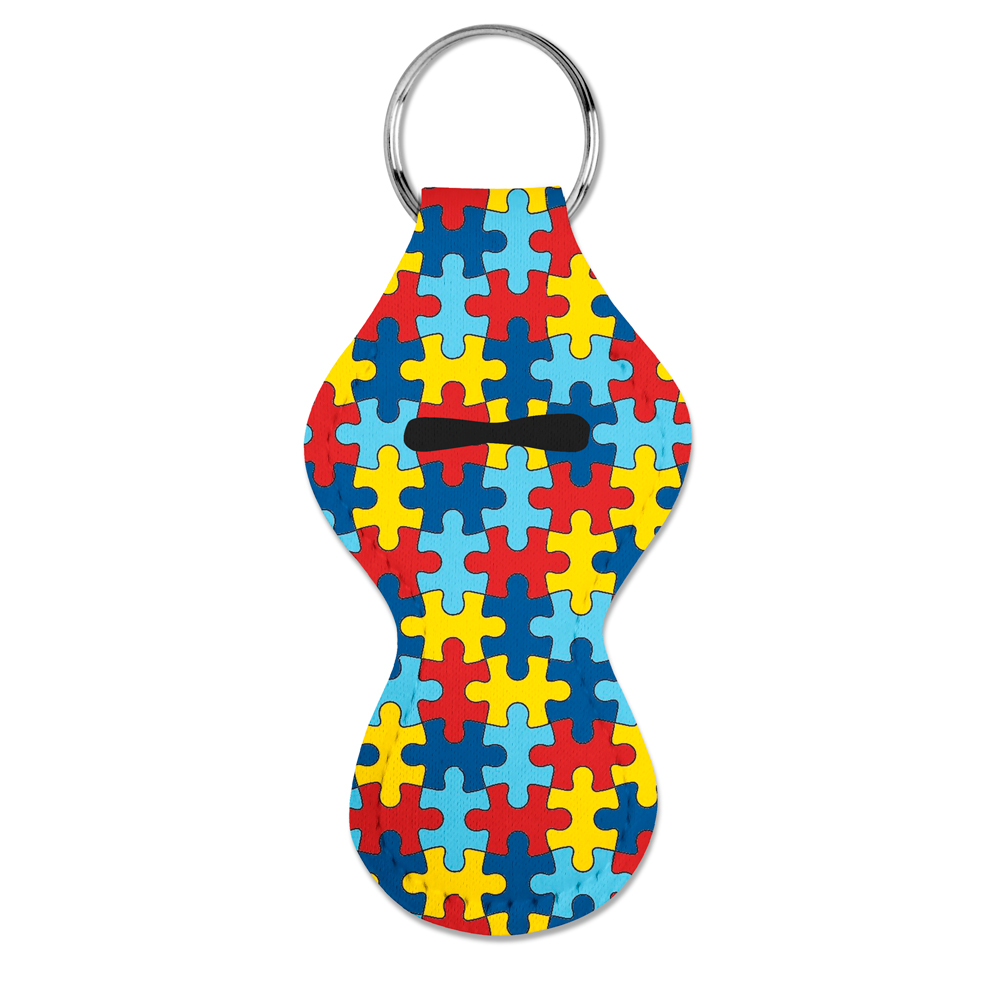 Autism Awareness Chapstick Holder 1