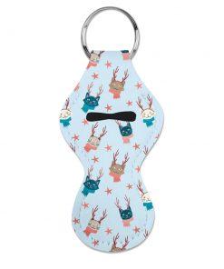 Christmas Cat Chapstick Holder