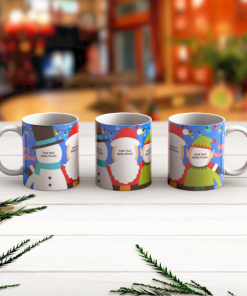 Elf Yourself and Friends Photo Mug web