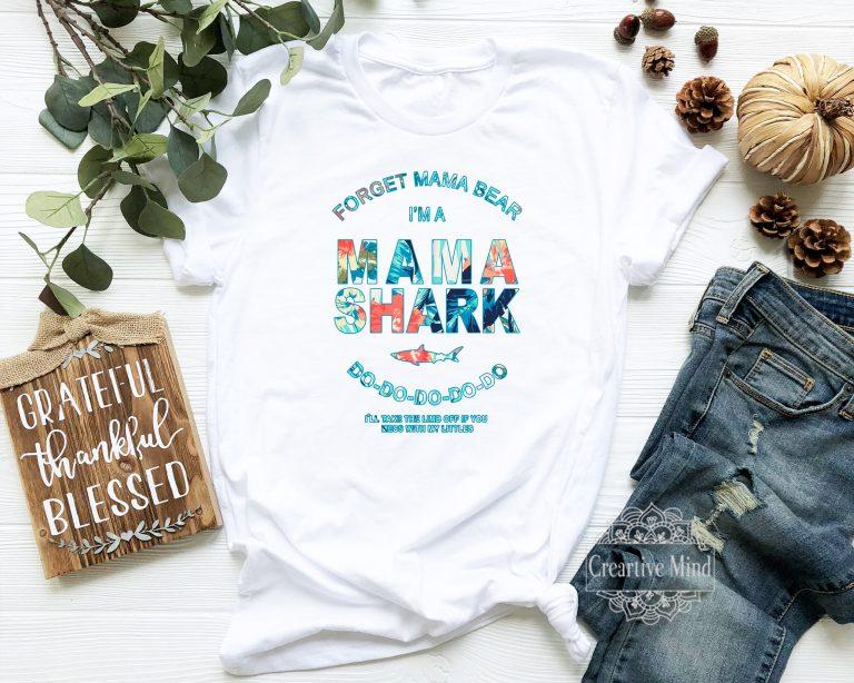 Mama Shark T Shirt