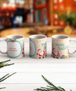 Merry Chrismas Mug Santa