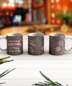 Merry Christmas and Happy New Year Mug