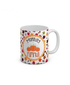 Morning Pumpkin Leaf Mug
