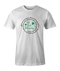 Old Irish Blessing T Shirt White