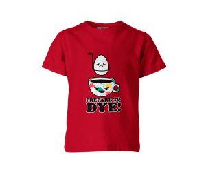 Prepare To Dye T Shirt Red 1
