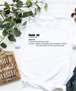 Thankful Definition T Shirt