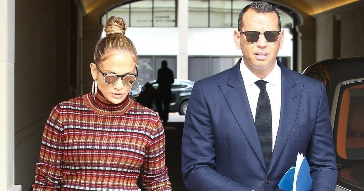 J Lo's Lucite Platform Heels Are No Joke - In Fact, They've Left Us Speechless