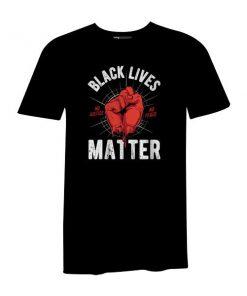 Black Lives Matter T Shirt Black
