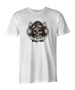 Born To Be Free T Shirt White