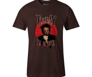Friday Im In Love T shirt brown