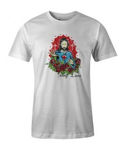 Holy Love T shirt white