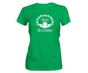 Irish Blessings T Shirt Kelly 1