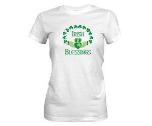 Irish Blessings T Shirt White 1