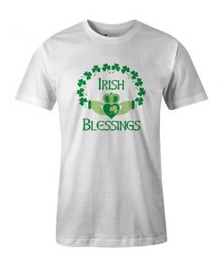 Irish Blessings T Shirt White