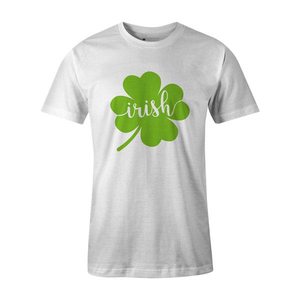 Irish T Shirt White