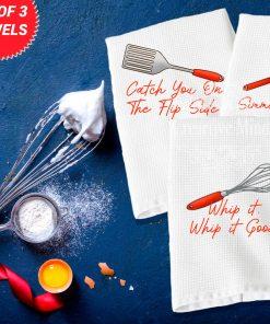 Kitchen Trio Waffle Weave Towel 2