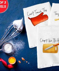 Kitchen Trio Waffle Weave Towel