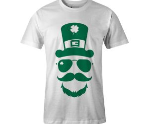 Leprechaun Hat T Shirt White