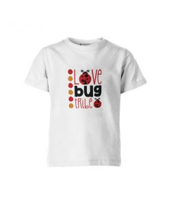 Love Bug Tribe T Shirt White