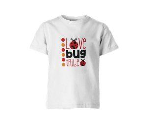 Love Bug Tribe T Shirt White