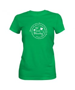 Old Irish Blessing 2 T Shirt Kelly