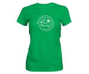 Old Irish Blessing 2 T Shirt Kelly