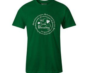 Old Irish Blessing T Shirt White