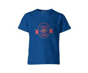 Train Hard T Shirt Royal