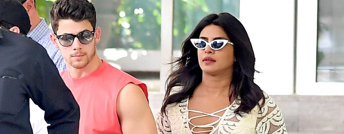 Priyanka Chopra's Gold Sandals Are Sparkly, but Her Cheeky Yellow Swimsuit Has Our Full Attention