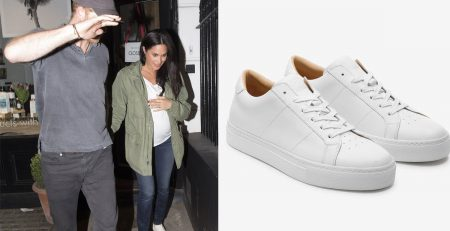 Meghan Markle's Self-Care Outfit Makes Plain White Sneakers and Jeans Look Oh So Stylish