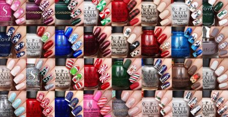 Best Christmas Nail Art Ideas | 40 Fall and Winter Nail Tutorials by NAILSBYCAMBRIA