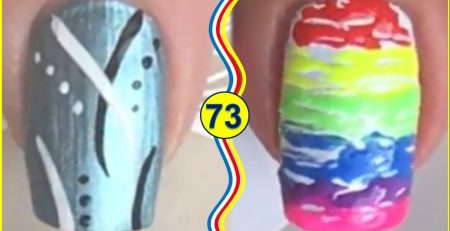 The Best Nail Art Tutorials - Beautiful Nails Design Ideas #73
