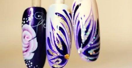2 nail art tutorials 2 christmas styles