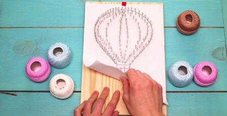 DIY String Art Tutorials! Hot Air Balloon String Art | Arrow String Art🏹 (For Begginers) | A+ hacks