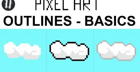 How To Pixel Art Tutorials [10] - Outline Basics