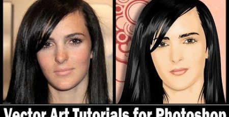 Vector Art Tutorials for Photoshop - Video Jaman Old
