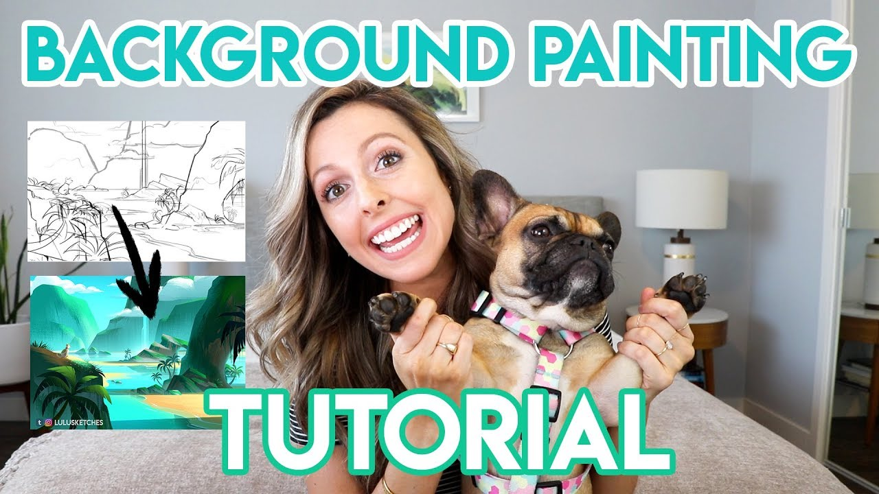 BACKGROUND PAINTING TUTORIAL