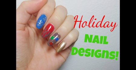 Holiday Nail Art Tutorials for Beginners!