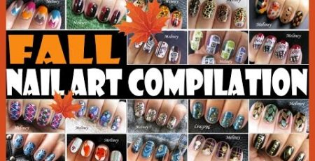 FALL NAIL ART COMPILATION | MELINEY HOW TO THANKS GIVING AUTUMN DESIGN TUTORIALS