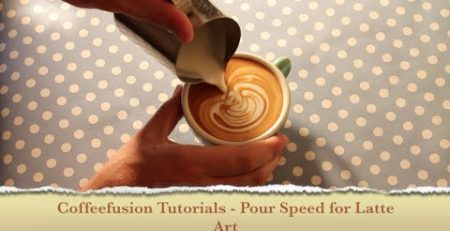 Coffeefusion Tutorials - Pour Speed for Latte Art