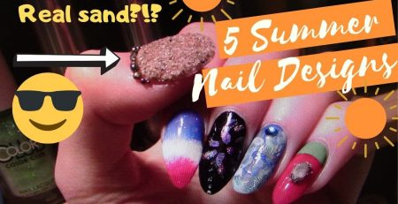 5 Nail Art Summer Designs 2019 Tutorials NEW! for beginners easy The Polish Queen