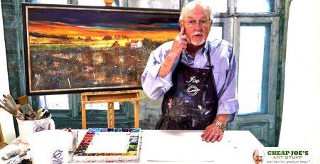 """Cheap"" Joe Miller's Painting Knife Demo"