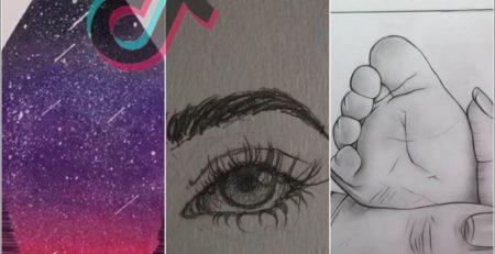 Tik Tok Art And Art Tutorials