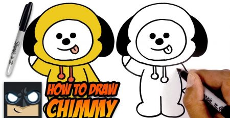 How to Draw BT21 | Chimmy | Step-by-Step Tutorial