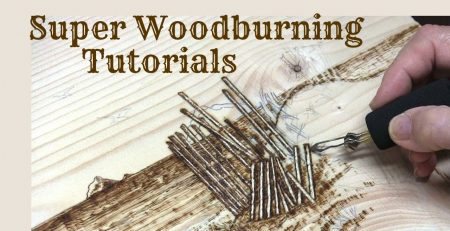 Super Wood burning and Pyrography Tutorials! Promo