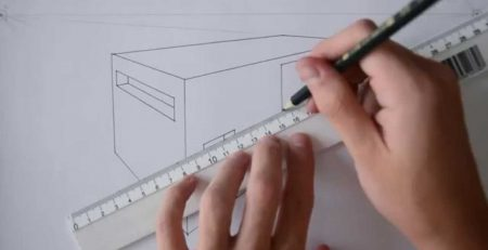 TUTORIAL | HOW TO DRAW A BASIC HOUSE (2-POINT PERSPECTIVE)