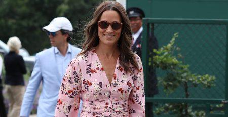 Game, Set, Match! Pippa Middleton's Fourth and Final Wimbledon Dress Is a Winner