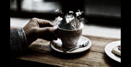 Mountain Iced Coffee -SPEED Art Tutorials [Photoshop Manipulation]