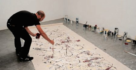 How to paint like Jackson Pollock – One: Number 31, 1950 – with Corey D'Augustine | IN THE STUDIO